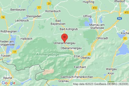 Karte Unterammergau
