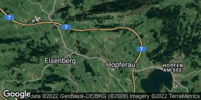 Google Map of Hopferau