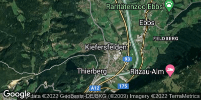 Google Map of Kiefersfelden