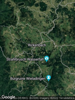Google Map of Rickenbach