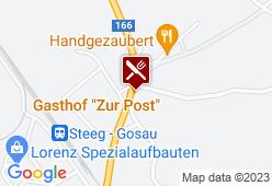 Landgasthof Zur Post - Karte