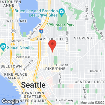 Map of Rite Aid at 201 Broadway East, Seattle, WA 98102