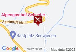 Alpengasthof Schuster - Karte