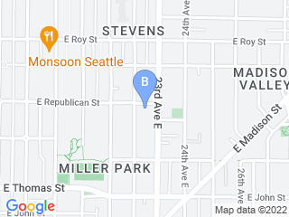 Map of Bonnies TLC Pet Grooming Dog Boarding options in Seattle | Boarding