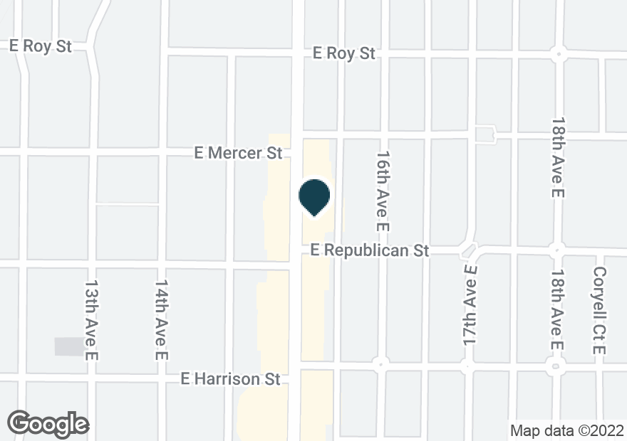 Google Map of500 15TH AVE E
