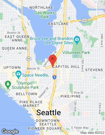 Map of Jason Casey - TIAA Financial Consultant at 617 Eastlake Avenue East, Seattle, WA 98109