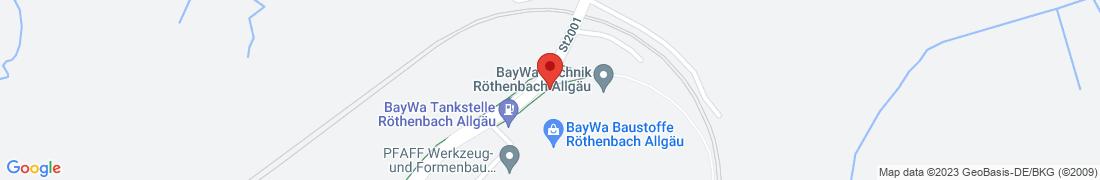BayWa Baustoffe Röthenbach Anfahrt