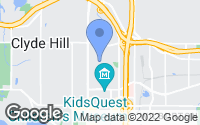 Map of Bellevue, WA