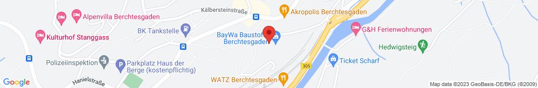 BayWa Baustoffe Berchtesgaden Anfahrt