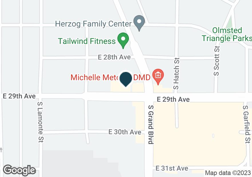 Google Map of2830 S GRAND BLVD