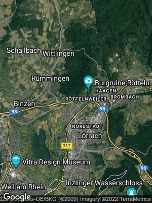 Google Map of Röttlerweiler