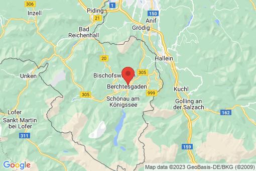 Karte Berchtesgaden