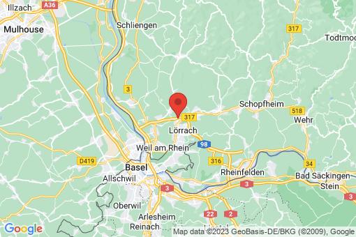Karte Röttlerweiler