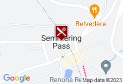 Bergrestaurant Liechtensteinhaus - Karte