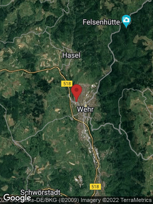 Google Map of Wehr