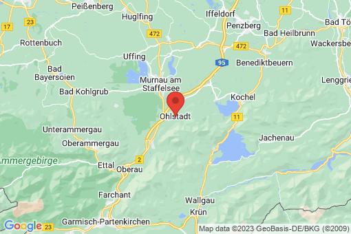 Karte Ohlstadt