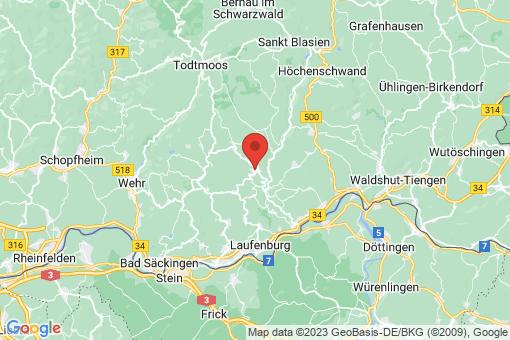 Karte Görwihl
