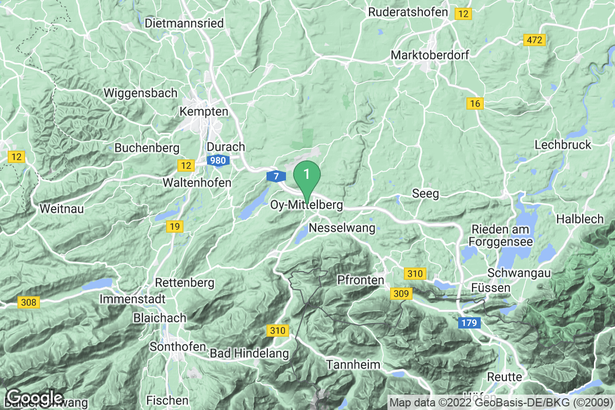 Google Map of Oy-Mittelberg