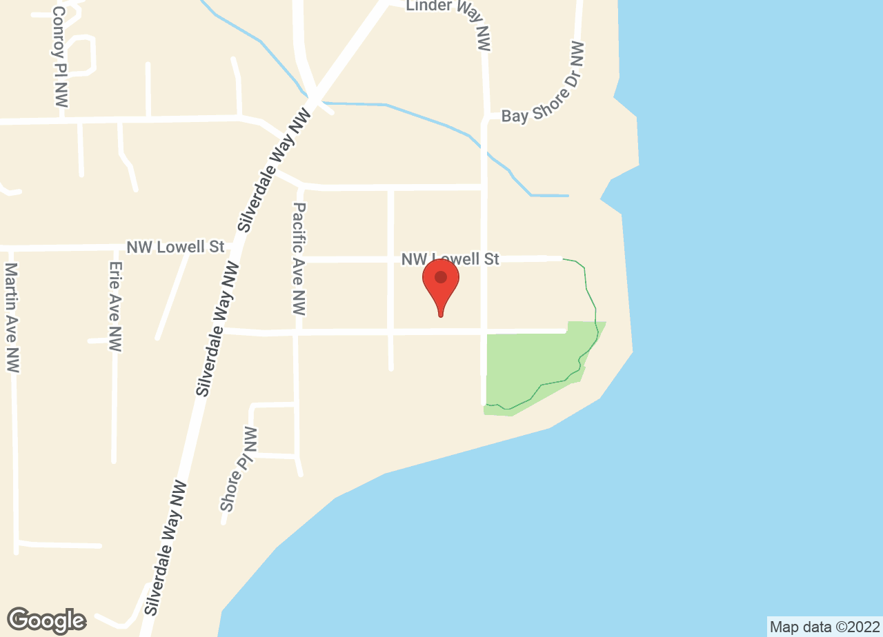 Google Map of VCA Olympic Animal Hospital