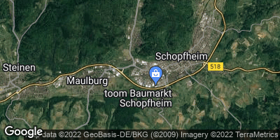 Google Map of Gündenhausen