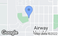 Map of Airway Heights, WA