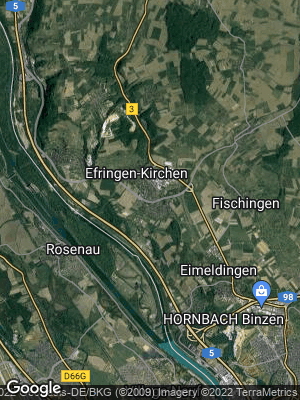Google Map of Efringen-Kirchen