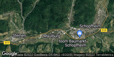 Google Map of Maulburg
