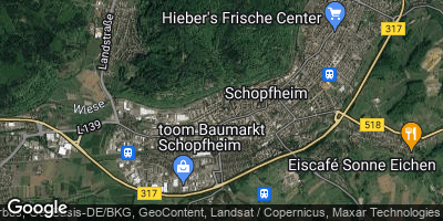 Google Map of Schopfheim
