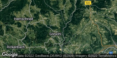 Google Map of Görwihl