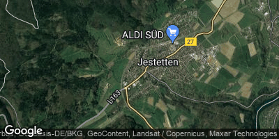Google Map of Jestetten