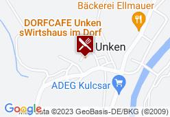 Dorfcafe Unken - Karte