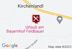 Jausenstation & Urlaub am Bauernhof Feldbauer - Karte