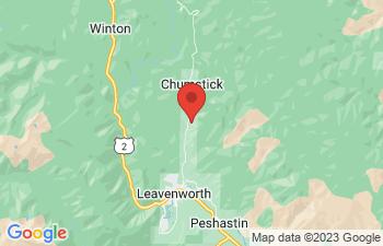Map of Leavenworth