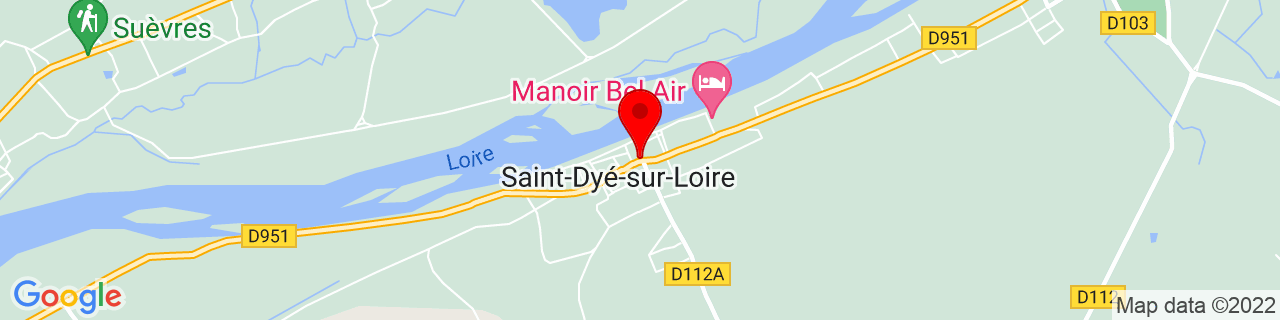 Google Map of 47.65595, 1.48847