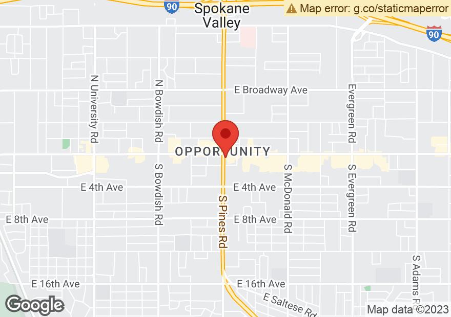 Google Map of 12312 E SPRAGUE AVE