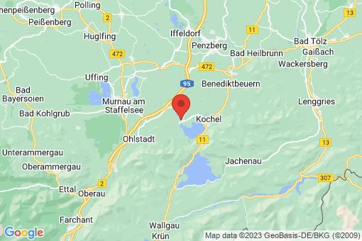 Karte Schlehdorf