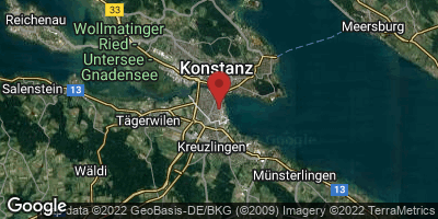 Google Map of Konstanz