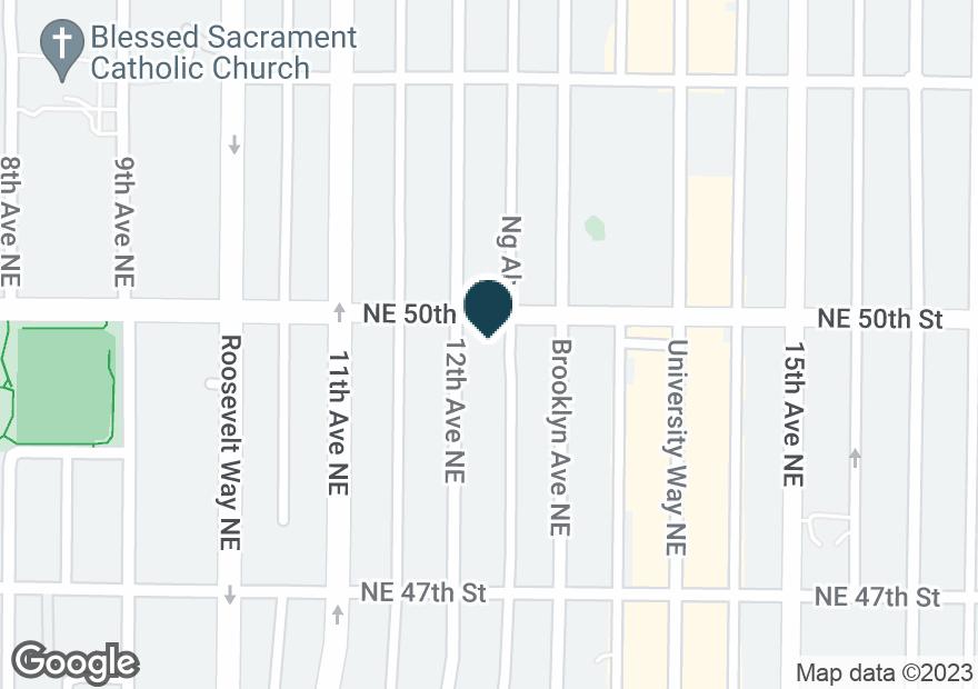 Google Map of1205 NE 50TH ST