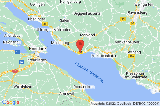 Karte Immenstaad am Bodensee