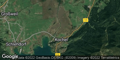 Google Map of Kochel am See
