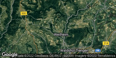Google Map of Weilheim