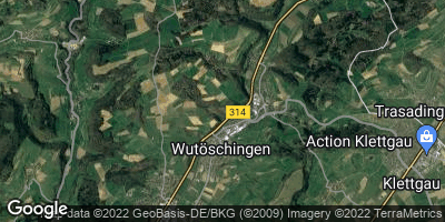 Google Map of Wutöschingen