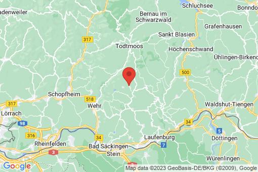 Karte Herrischried