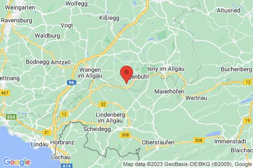 Karte Argenbühl