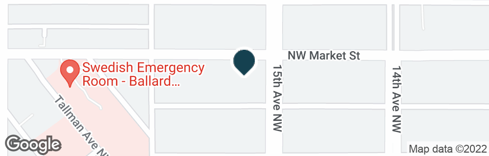 Google Map of5409 15TH AVE NW