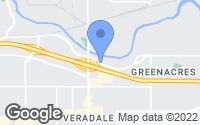 Map of Spokane Valley, WA