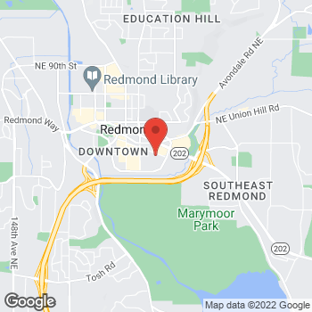 Map of Bed Bath & Beyond at 7589 170th Avenue Northeast, Redmond, WA 98052