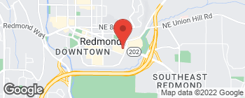 Mapa de 16987 Redmond Way en Redmond