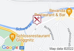 Cafe-Restaurant Posthörndl - Karte