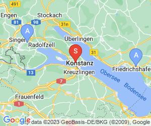 Karte für LAS VEGAS BOWLING Konstanz